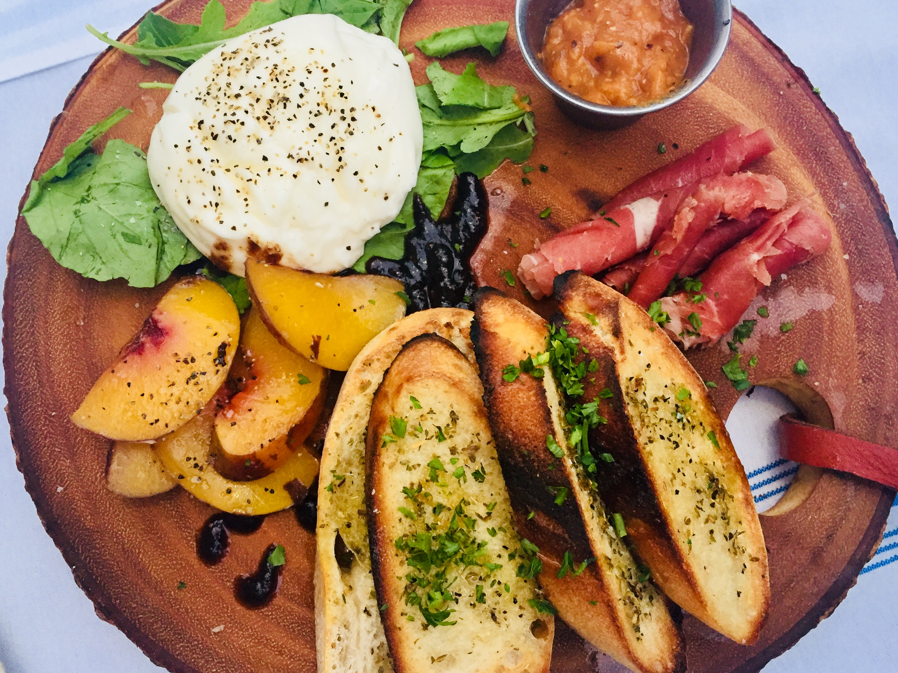 burrata board